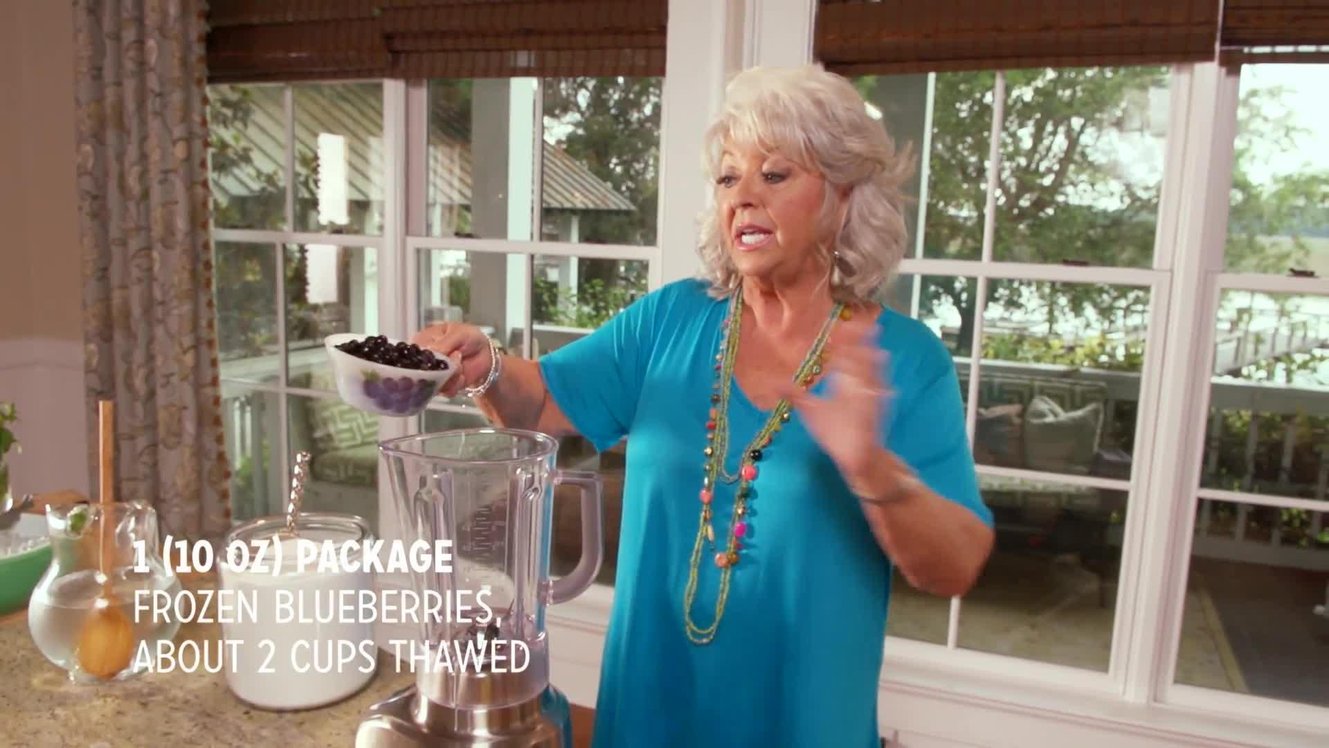 Nana\'s Blueberry Muffins by Paula Deen | Paula Deen