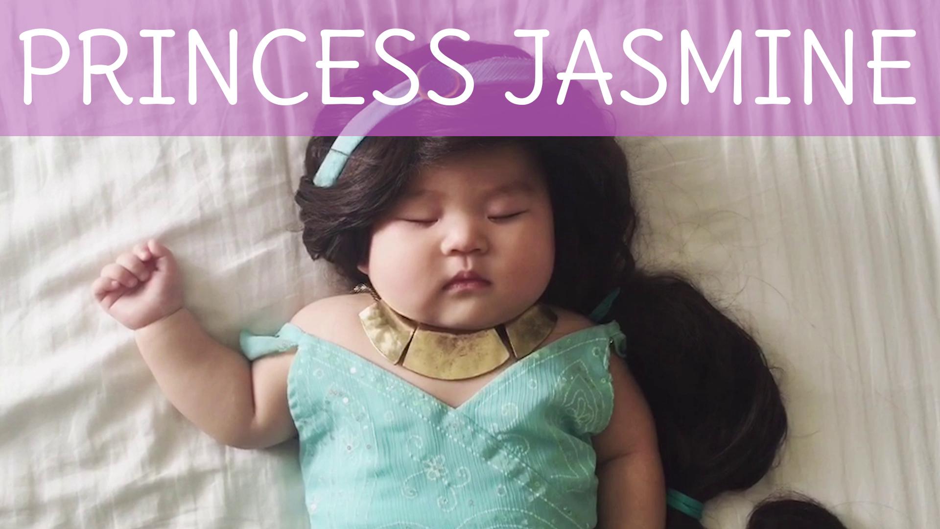How To: Princess Jasmine Baby Costume