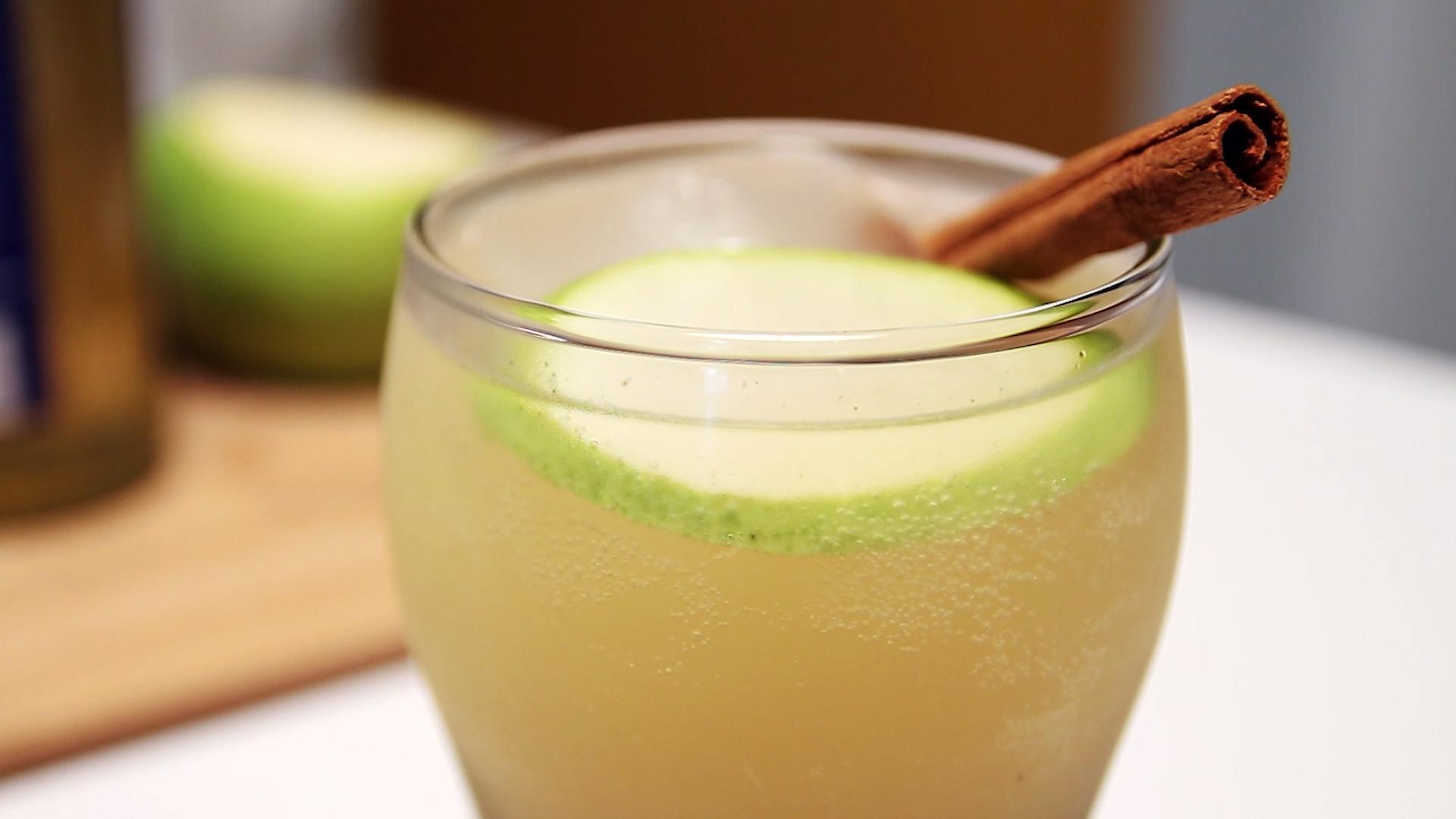 Toast Sweater Weather with this Spiced Pear Cider Cocktail