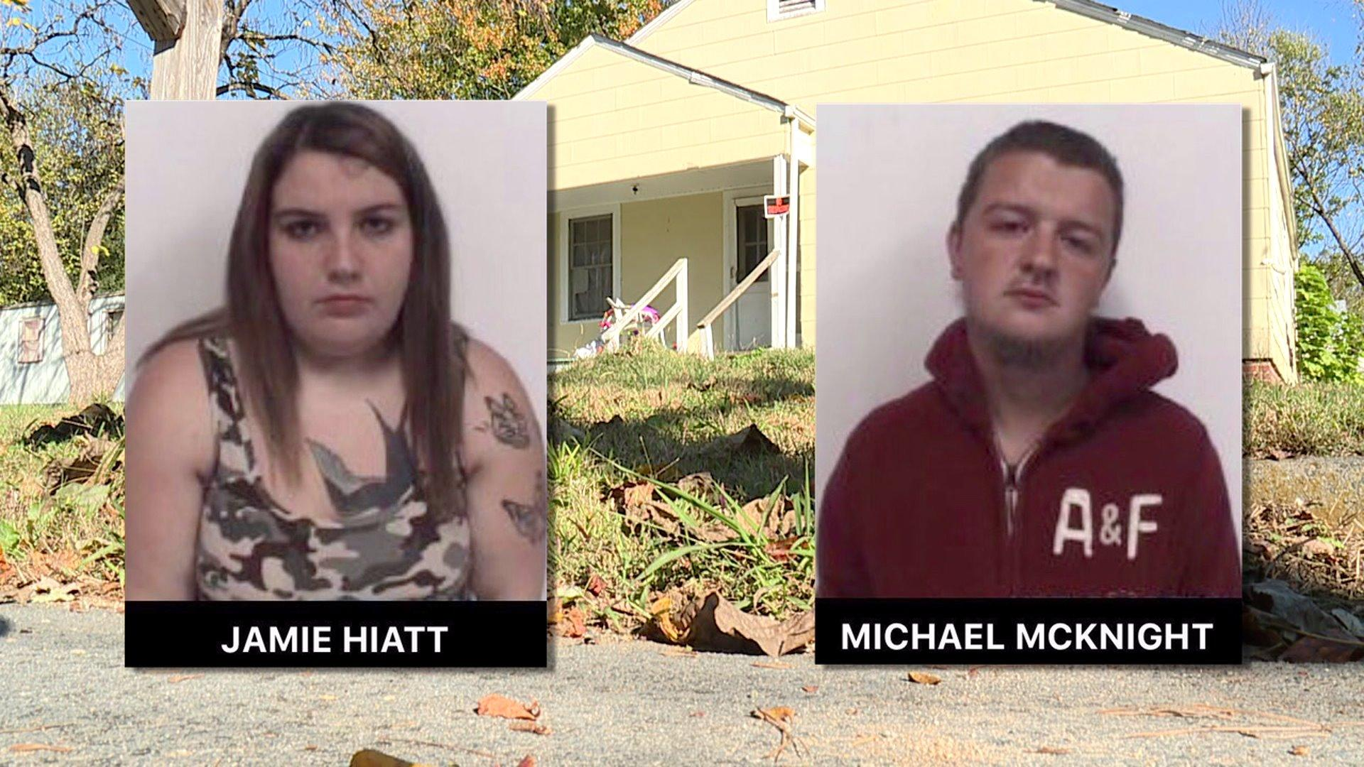 Couple arrested after 7 kids found in poor living conditions, 1 with maggots in diaper