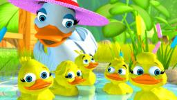 Five Little Ducks | 5 Little Ducks | English Song for Kids by Little Treehouse