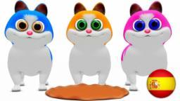 Tres pequeños gatitos | Canciones de rimas infantiles | Lista de canciones de rimas infantiles | Mu