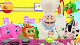 Divide la torta | Canciones infantiles | Lista de canciones de rimas infantiles | Rimas para niños