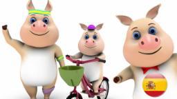 Сanciones Infantiles | este pequeño cerdito | canciones infantiles en español | familia | musica