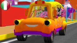 Le Ruote Del Bus | Rime per i bambini | Filastrocche in italiano | Canzoni in età prescolare