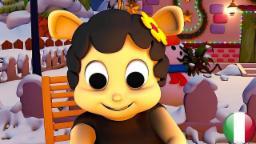 Pecora nera | Filastrocche in italiano | Fumetto dei capretti | Rime 3D | Bambini animazioni