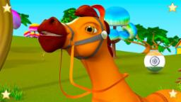 Chal Mere Ghode | Hindi Balgeet | चल मेरे घोड़े | Rhymes in Hindi | Little Treehouse