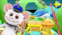 Min Far Han For Till Hugg Hugg Hugg | Barnkammarerim samling | Busigt lärande | Barnmusik| 3D Rim
