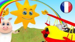 Monsieur Soleil  | Comptines pour Enfants | Dessin Animé Francais | Comptine Little Treehouse