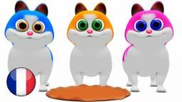 Trois Petits Chatons | Comptines pour Enfants | Dessin Animé Francais | Comptine Little Treehouse