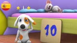 Сanciones Infantiles | diez en la cama | canciones para niños | videos infantiles | musica infantil