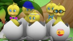 Cinco Patitos | rimas infantiles | canción de cuna para los niños | musica infantil