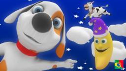 Hey Diddle Diddle | Coleção de rimas de berçário | Canção infantil | Animações para crianças