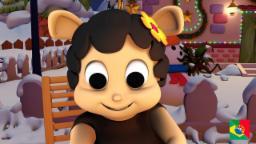 Baa Baa Black Sheep | baa baa ovelha negra rima | coleta de rimas para crianças | animação