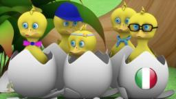 Cinque Anatrelle | Bambino di musica | Filastrocche canzoni | Animazione per i bambini