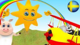 Åh farbror sol | Barnvisor på Svenska | Busigt lärande | Barnrim | Barnmusik