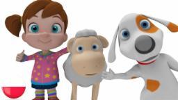 Mary Małą Owcę Ma | Kolekcja rymowanek | maluch muzyki | Niemowlęta rymy | Animacja dla dzieci