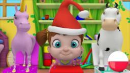 Pop idzie łasica | Rymowanek w języku polskim | Kołysanki | animacja dla dzieci