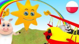 Pan Sun | Rymowanek w języku polskim | Animacja dla dzieci | Przedszkolnym piosenki