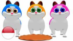 Tiga Anak Kucing | Lagu Anak| kartun anak| lagu anak terpopuler| taman kanak-kanak| Little Treehouse