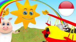 Oh Matahari | Lagu Anak | kartun anak | lagu anak terpopuler | taman kanak-kanak | Little Treehouse