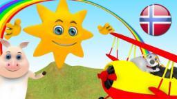 Mr Sol | Barnesanger På Norsk | Barnerim | Nursery Rhymes By Little Treehouse