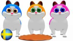 Kattungar små | Busigt lärande | Barn musik | Barnkammarerim spellista | Barn låtar