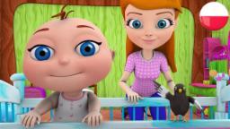 Cicho Dzieciątko | Kolekcja Rymowanek | Przedszkolnym Piosenki | Bajki dla Dzieci | Rymy 3D