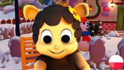 Baa Baa Czarna Owca | Rymowanek dla dzieci | Kołysanki | Animacja dla dzieci