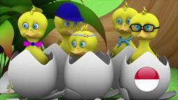 Lima Bebek Kecil | Lagu Anak| kartun anak| lagu anak terpopuler| taman kanak-kanak| Little Treehouse