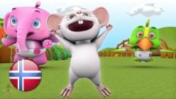 Er Du Veldig Glad Og Vet Det | barnesanger på norsk | barnerim | Nursery Rhymes by Little Treehouse