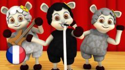 Bêê Bêê Mouton Noir  | Comptines pour Enfants| Dessin Animé Francais | Comptine Little Treehouse