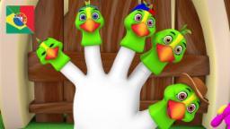 A Família dos Dedos | Canções Préescolares | Para Crianças | Música para bebés