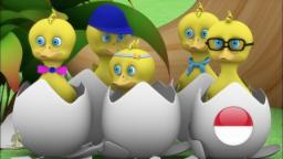 Lima Bebek Kecil | Lagu Anak  kartun anak| lagu anak terpopuler|taman kanak-kanak | Little Treehouse