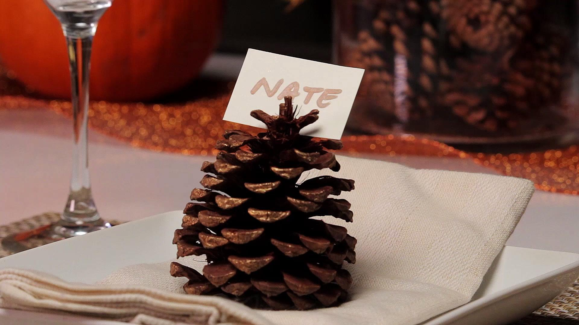 Place Card Ideas for Your Thanksgiving Table