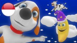 Hei Diddle, Diddle | kartun anak | lagu anak terpopuler | taman kanak-kanak | Little Treehouse