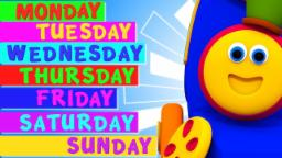 Days Of The Week | Learning Street With Bob The Trai...