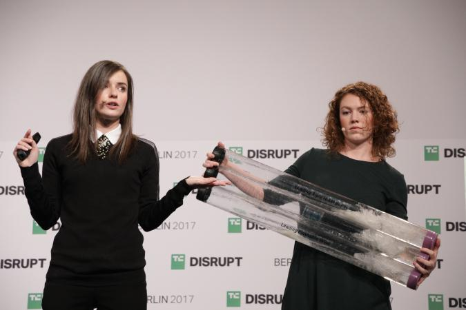 Lia Diagnostics presents at Disrupt Berlin Startup Battlefield