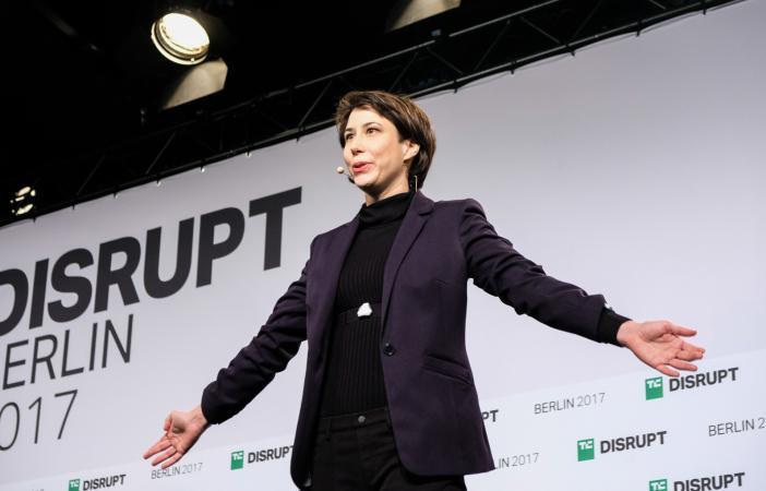 Notch presents at Disrupt Berlin Startup Battlefield
