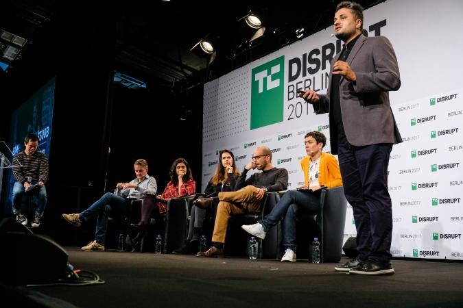 FTCash presents at Disrupt Berlin Startup Battlefield