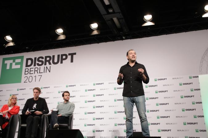 WICASTR presents at Disrupt Berlin Startup Battlefield