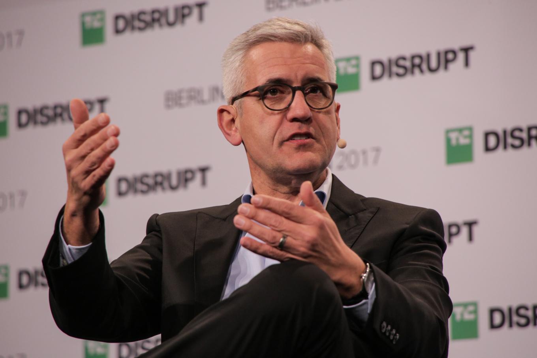 Ulrich Spiesshofer of ABB discusses the push toward robotics factories