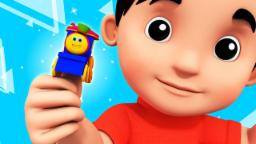 Where Is Thumbkin | Learning Street With Bob The Tra...