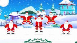 Five Fat Santas | Jingle Bells Jingle Bells Jingle o...