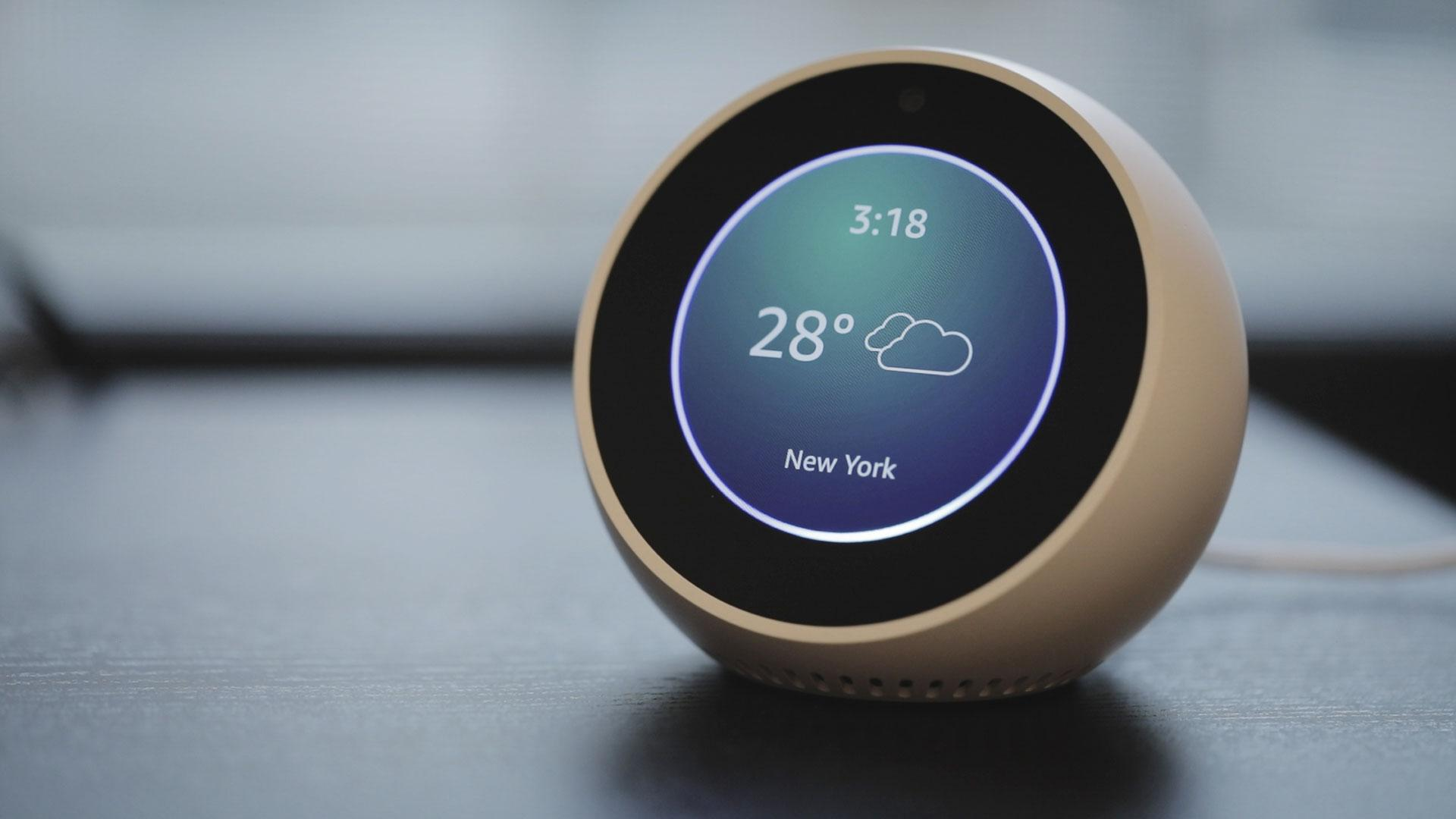 Smart Alarm Clock >> Amazon S Echo Spot Is More Than Just A Smart Alarm Clock Techcrunch