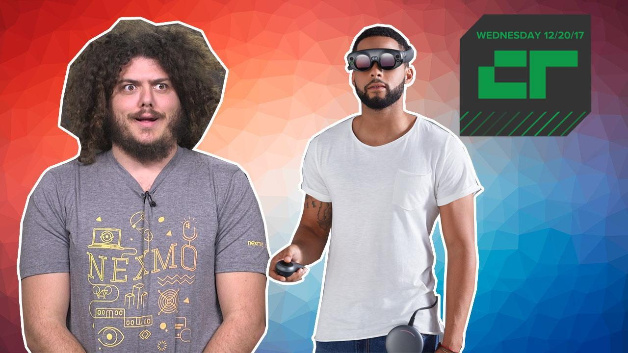 Magic Leap Finally Unveils Its Headset | Crunch Report