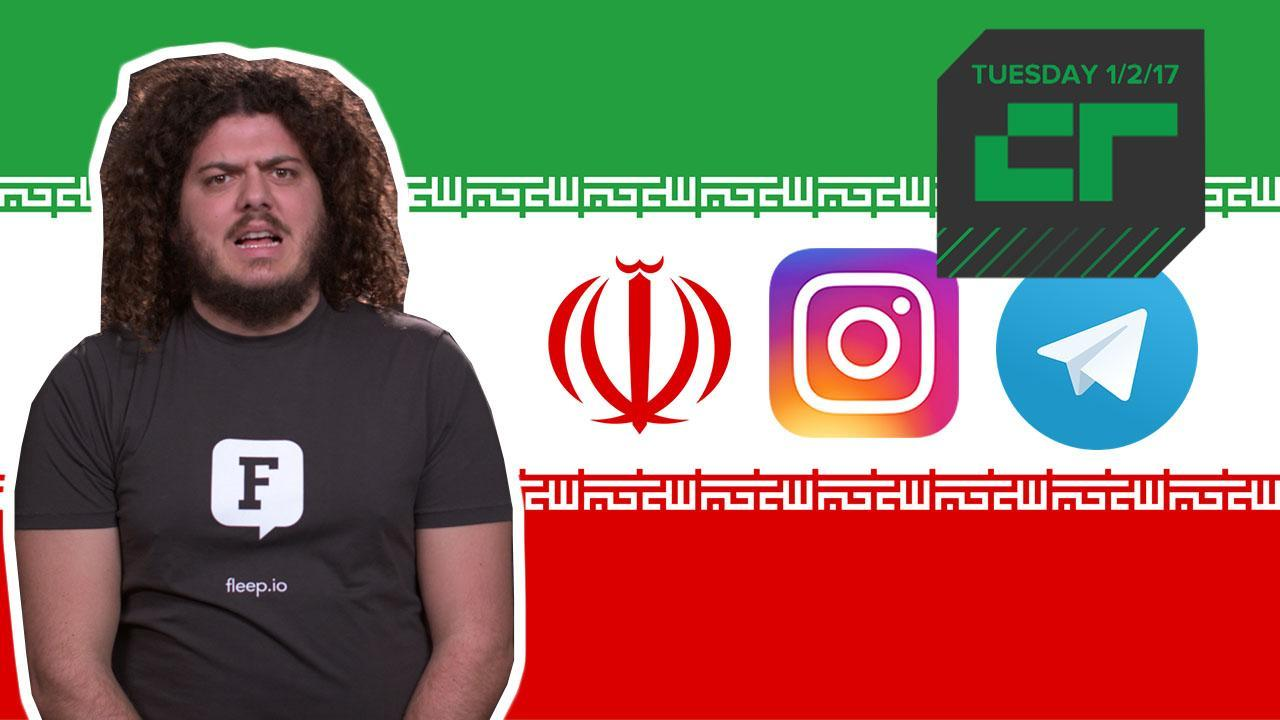 Telegram and Instagram Are Being Restricted in Iran | Crunch Report