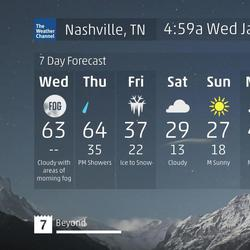 Nashville Tn 60 Second Forecast 5a55f4500c062d2975ba0cff on Weather Page Az 10 Day Forecast