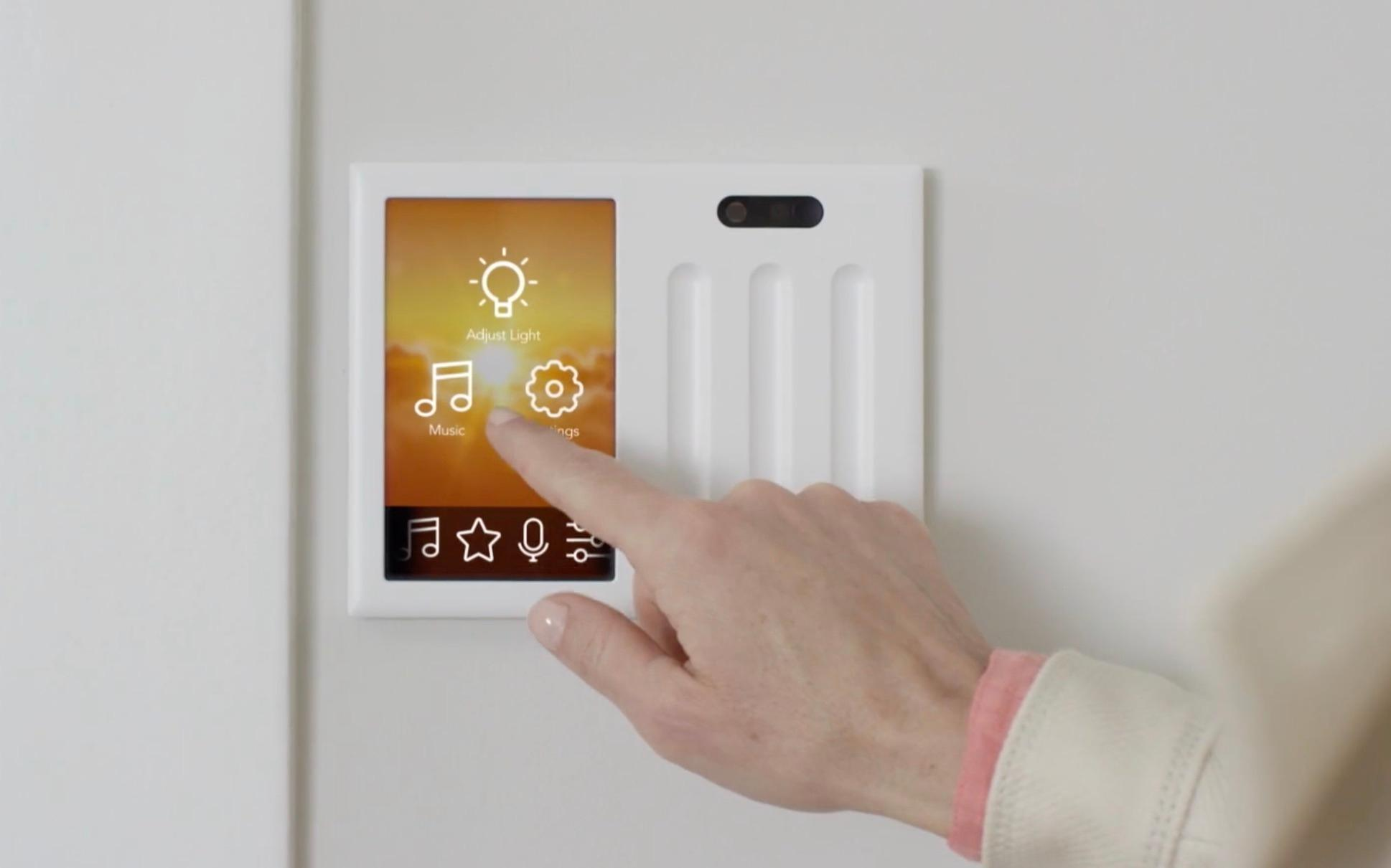Brilliant smart home light switch