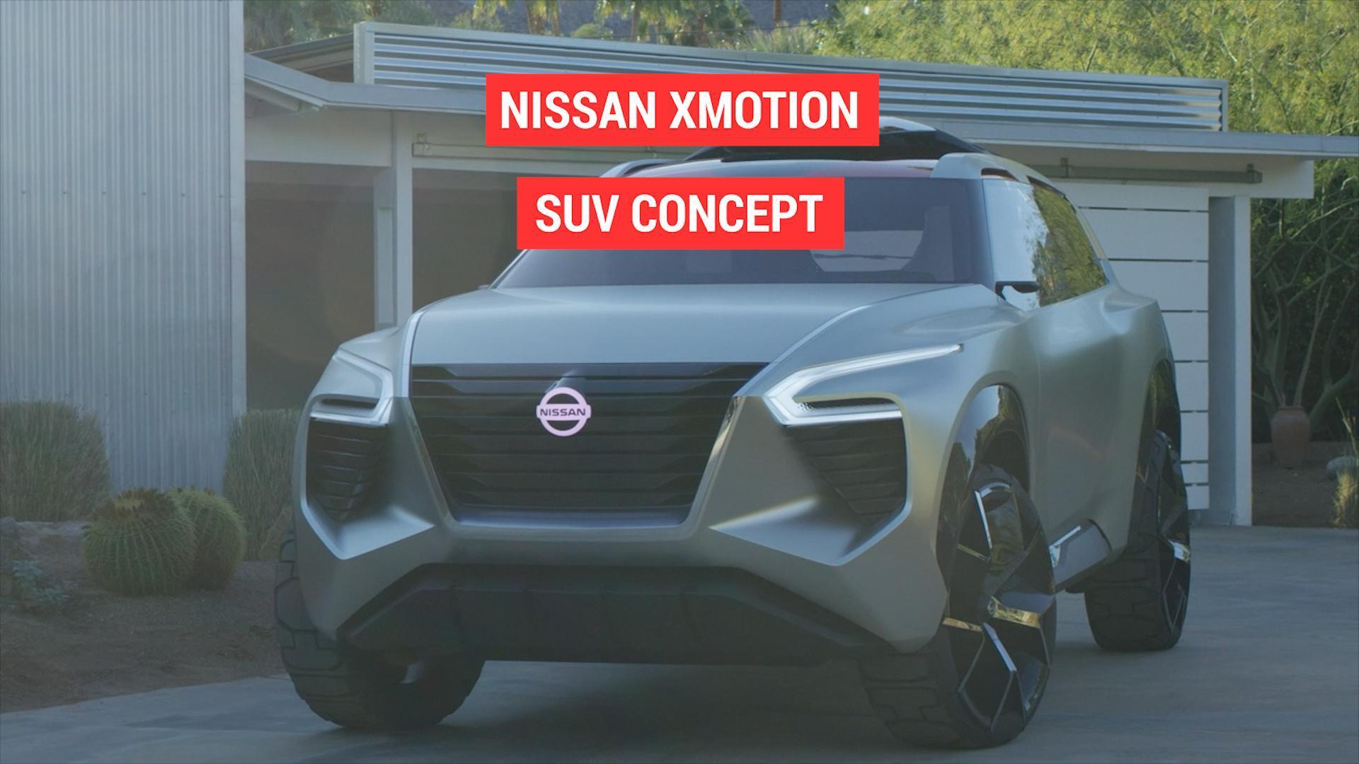 Nissan Xmotion Suv Concept Autoblog